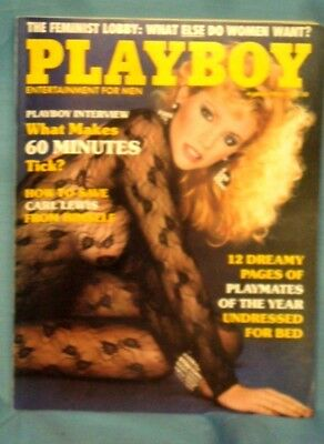 "Vintage ""PLAYBOY""  Magazine ~ March  1985 ~"