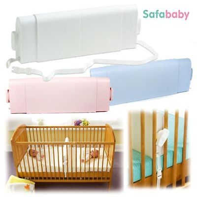 Safababy Cot Divider Feet to Foot Saferbaby for Newborn Birth White, Pink, Blue