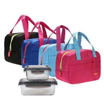 Functional Lunch Box Bags Insulated Cool Bag Picnic Bags School Lunchbox Pouches