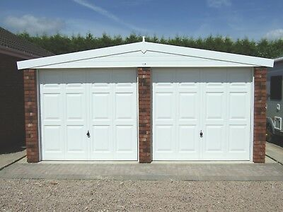 Apex Royale Double Concrete Garage - Our Best Selling Garage