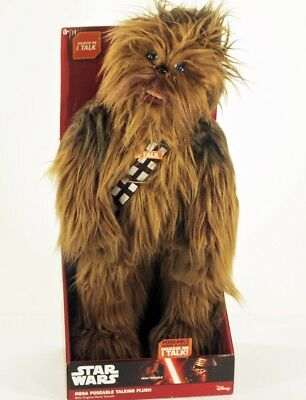 """Star Wars The Force Awakens CHEWBACCA 24"""" inch Poseable Talking Plush"""