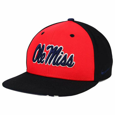 best sneakers 82f62 203da Ole Miss Rebels Nike NCAA Pro Verbiage Snapback Cap Hat Hotty Toddy  Mississippi