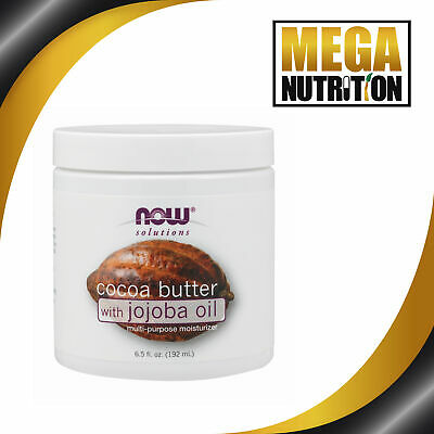 Now Foods, Solutions, Cocoa Butter, 6.5floz (190ml)