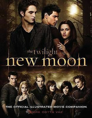 New Moon: The Official Illustrated Movie Companion by Mark Cotta Vaz (Paperback)