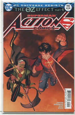 Action Comics-Superman #990 NM The OZ Effect Part 4 Cover B   DC Comics CBX39B