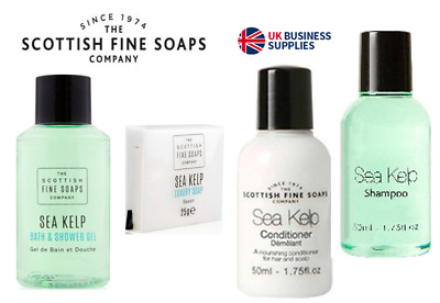 Sea Kelp {Scottish Fine Soaps} 50ml Guest Room, Hotel, Holiday Supplies.