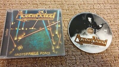 "AGENT STEEL - ""Unstoppable Force"" - CD - 1999 Century Media Version"
