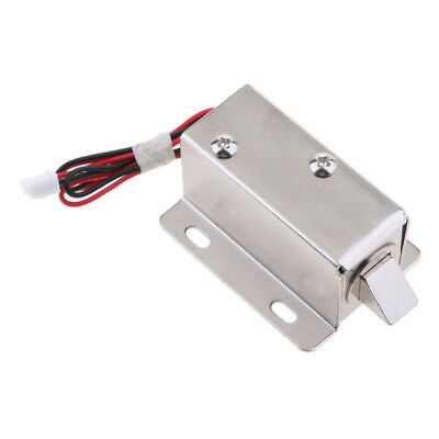 Universal Mini Electric Magnetic Lock 24V 1.17A for Door Gate Cabinet Locker