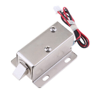 Universal Mini Electric Magnetic Lock 12V 1.1A for Door Gate Cabinet Locker