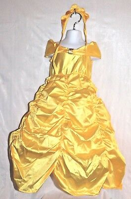 Beauty& Beast Dress Costume Size Toddler 1-2 Years *New In Package* Puffy