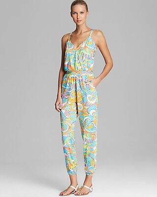SIZE M Trina Turk Cosmos Jumpsuit Swim Cover-Up NWT