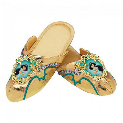 Disney Princess Jasmine of Aladdin Deluxe Child Costume Slippers