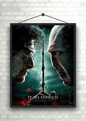 Harry Potter Classic Large Movie Poster Art Print A0 A1 A2 A3 A4 Maxi
