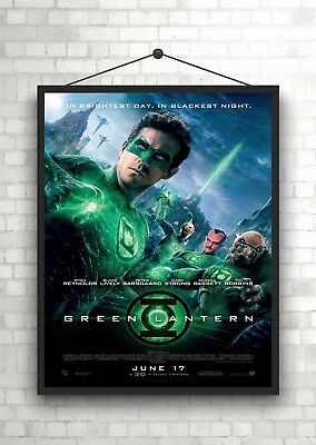 The Green Lantern Classic Large Movie Poster Art Print A0 A1 A2 A3 A4 Maxi