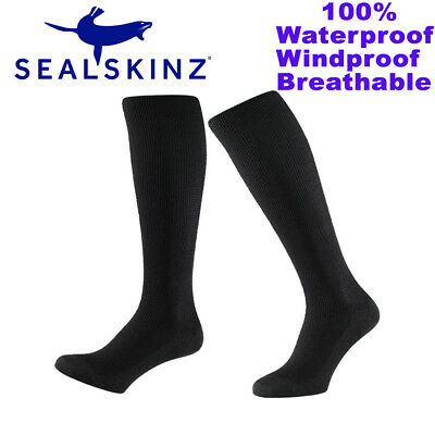 Sealskinz British Army Issue Waterproof Breathable Combat Military Knee Sock New
