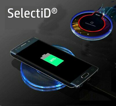 Qi Wireless Fast Charger Dock Charging Pad+Receiver For iPhone 5/6s/7 Plus/XS/XR
