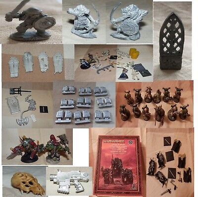 HUGE job lot Warhammer items - figures and scenery items