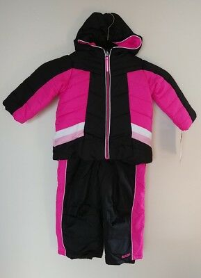 5b65bb9a0d3d PACIFIC TRAIL BABY Girls Pink Bib Snowpants