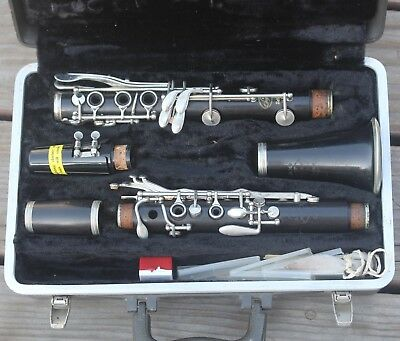 "Vintage Selmer Signet 100 Wood Clarinet w/ Hard Case 27"" Made in USA"