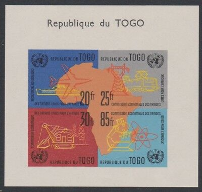 Togo Ships Planes Trains Excavator Nuclear Energy MS MH SG#MS290a CV£3.25
