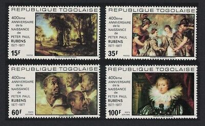 Togo 400th Birth Anniversary of Rubens 4v SG#1228-1231