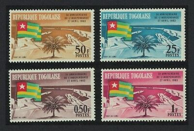 Togo 3rd Anniversary of Independence Flag 4v SG#330-333