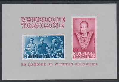 Togo Churchill Commemoration MS SG#MS427a SC#C47a