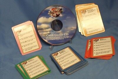 Are you Smarter Than a 5th Grader? Card Game with CD by Cardinal Industries 2007