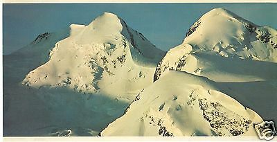 SWISSAIR of Switzerland LARGE 5x10 AIRLINE ISSUE POST CARD CASTOR AND POLLUX