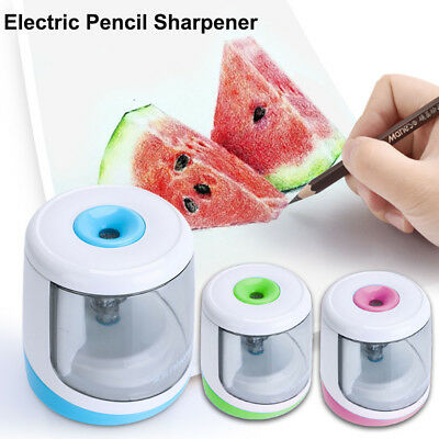 Stationery Electric Pencil Sharpener Battery Operated Cutting Tools Automatic
