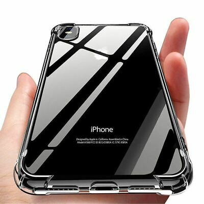 for iPhone Xs 8 7 6s Plus 5s SE XR Case Cover Silicon Shockproof Tough Hard Gel