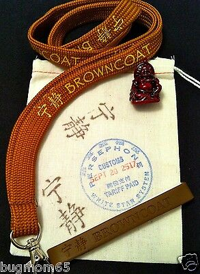 Firefly Serenity Browncoat Gift Pack Lanyard, Silicone Bracelet, & Little Buddha