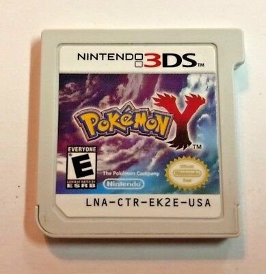 Pokemon Y (Nintendo 3DS, 2013) Cart Only