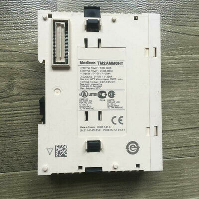 SCHNEIDER ELECTRIC TM2AMM6HT PLC TWIDO ANALOG MIXED I//O MODULE EXPANSION