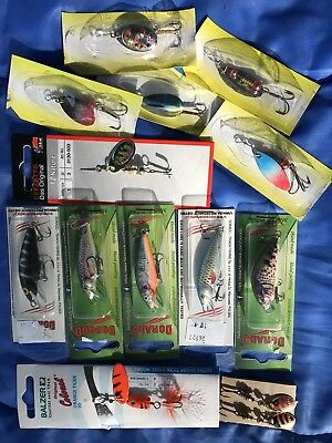 Trout & Redfin Lure//spinner Package- Proven Successful On Trout & Redfin