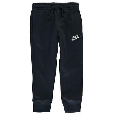 AUTHENTIC NEW Nike Boys Fleece Track Pants School Sport Navy Blue 5 6 years