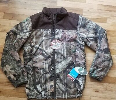 5af72fc2313 NWT Columbia PHG Mossy Oak Camo Biggs Landing Insulated BLOOD GUTS JACKET  SMALL