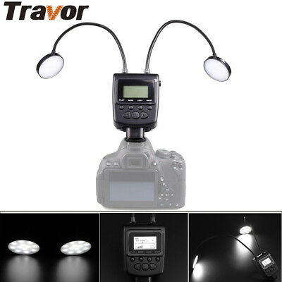 Only UK Travor ML-2D Macro 24LED Flash Lights Speedlite for Canon Nikon Camera