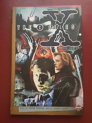 The X-Files - Project Aquarius - Manga Comic Graphic Novel Book - 1996 - NEW
