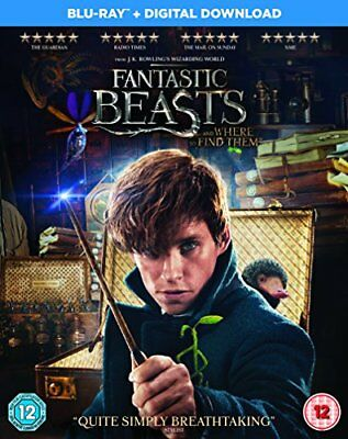 Fantastic Beasts and Where To Find Them [Blu-ray + Digital Downloa... -  CD 8HVG