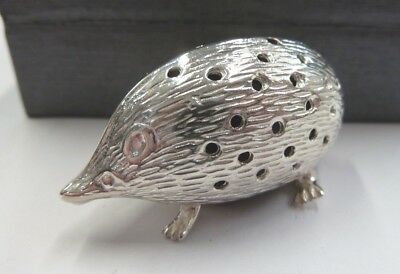 Sterling Silver Hedgehog Pin Cushion - 13 grams