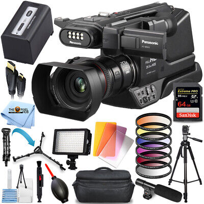 Panasonic HC-MDH3 AVCHD Shoulder Camcorder with LCD Screen & LED Light Bundle