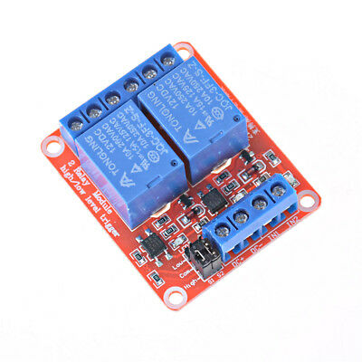 2 Channel 12V Relay Module Board Shield With Optocoupler Support Trigger RelaySM