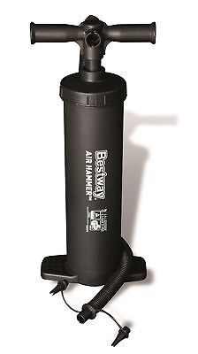 "Bestway Air Hammer Inflation Hand Pump 19"" for Airbed, Swimming Pool etc"