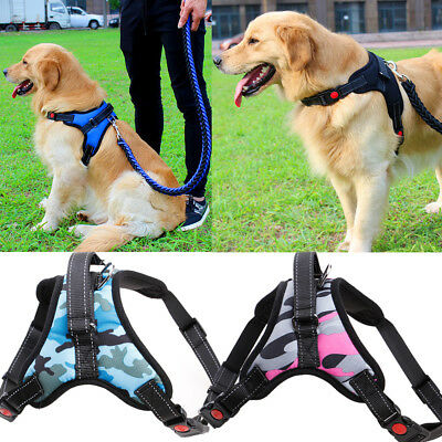 No Pull Adjustable Dog Pet Vest Harness Quality Nylon Small/Medium/Large/XL