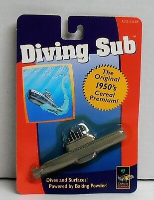 1998 Diving Sub Replica of Original 1950's Cereal Premium by DaMert Company NIP