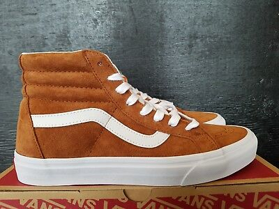 New In The Box Vans Sk8-Hi Reissue Pig Suede Leather Brown Vn0A2Xsbu5K For  Men 5188c9daa