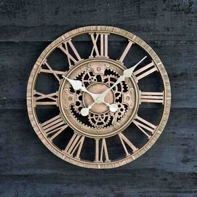 Outside In Newby Mechanical Garden Outside Weather Resistant Wall Clock