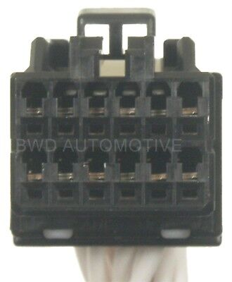 Instrument Panel Harness Connector BWD PT1357
