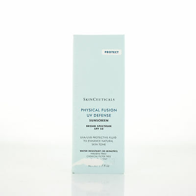 SkinCeuticals Physical Fusion UV Defense SPF50 1.7oz/50ml DAMAGED BOX) SEALED